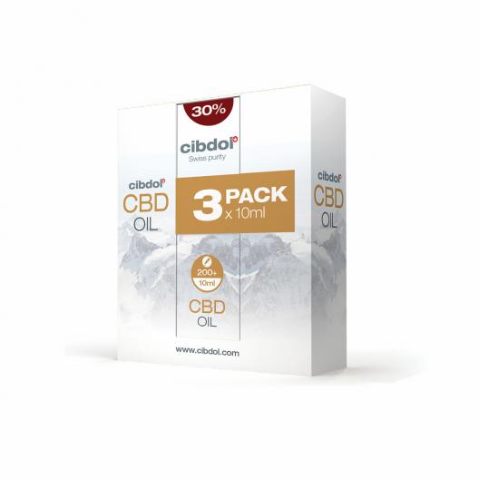 Ulei cu CBD 30% Multipack