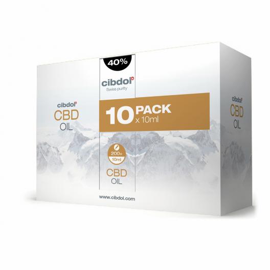 Ulei cu CBD 40% Multipack