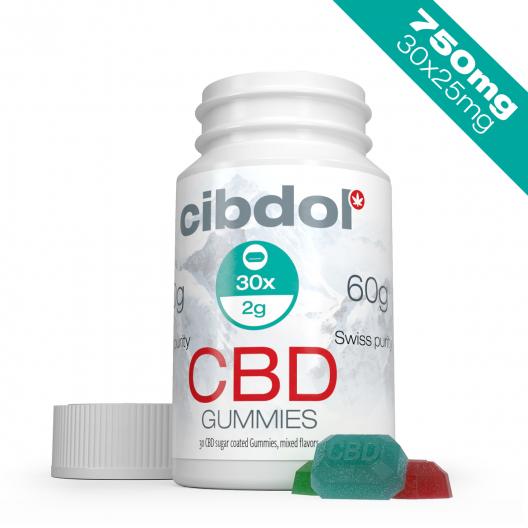 Jeleuri CBD (750 mg CBD)